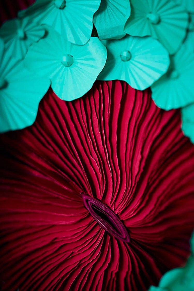 Vibrant Paper Art Sculpture Captures the Diversity