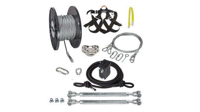 What's the Best Zipline Kit for My Backyard? | Zip line ...