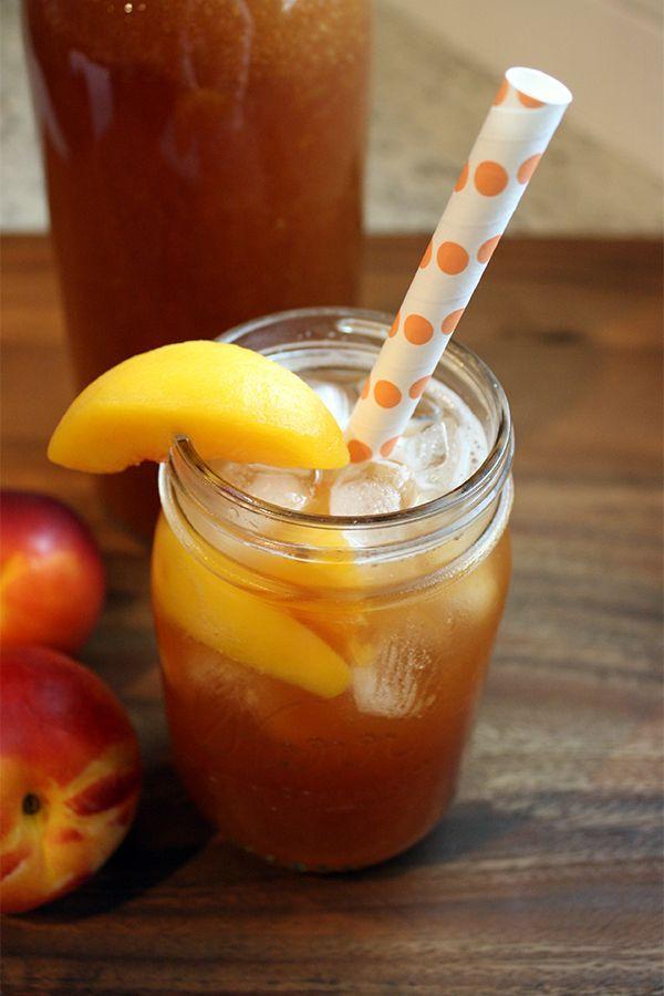 peach tea 3 homemade peach tea peach homemade and teas