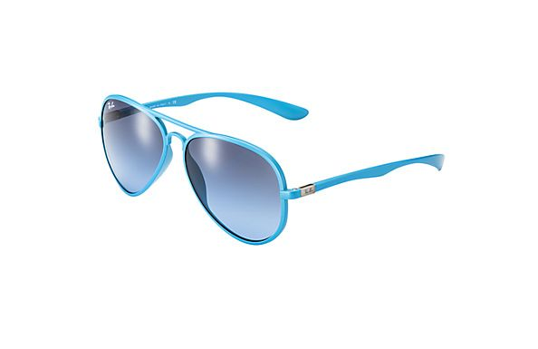 Ray-Ban RB4165 Justin Light Blue Sunglasses | Ray-Ban USA Official ...