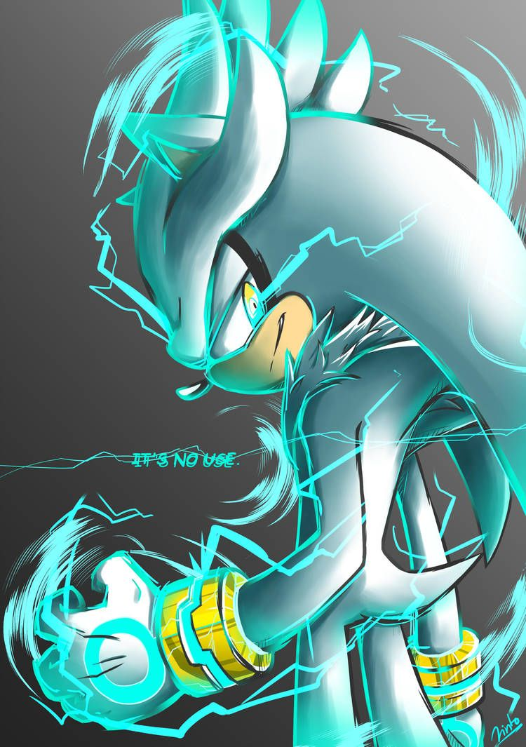 It S No Use By Azurejinto Silver The Hedgehog Wallpaper Hedgehog Art Silver The Hedgehog