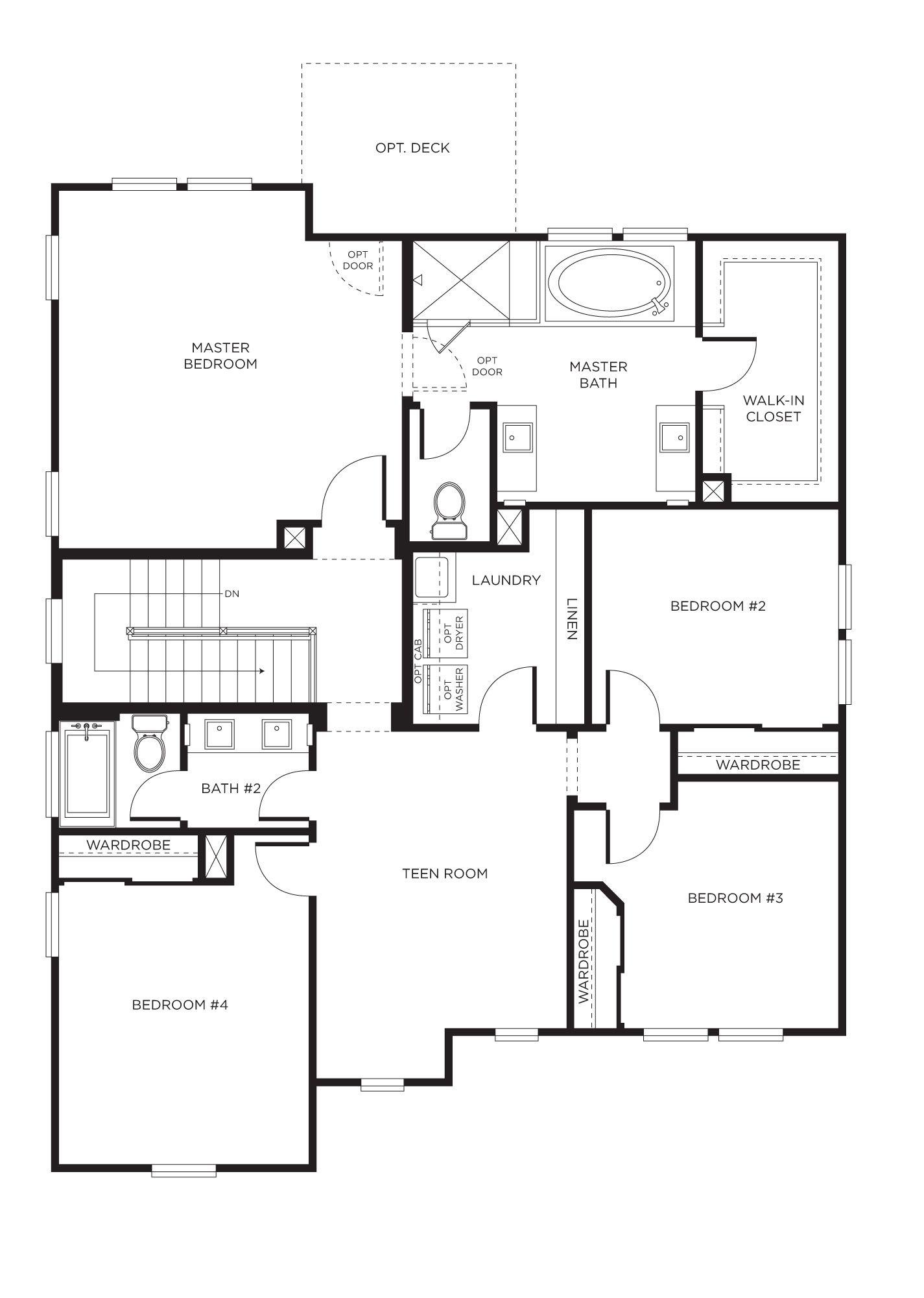 Sorrento Heights Plan 3a San Diego California Http Www
