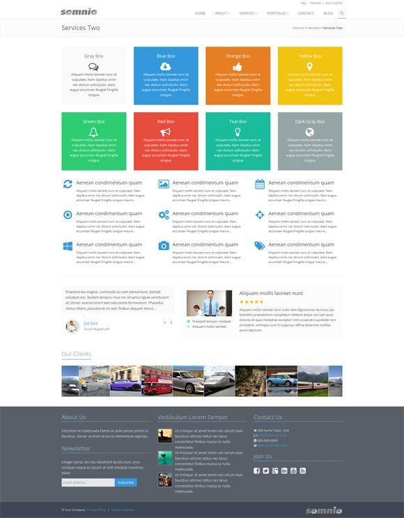 Somnio - Premium SharePoint 2013 Theme … | Pinteres…