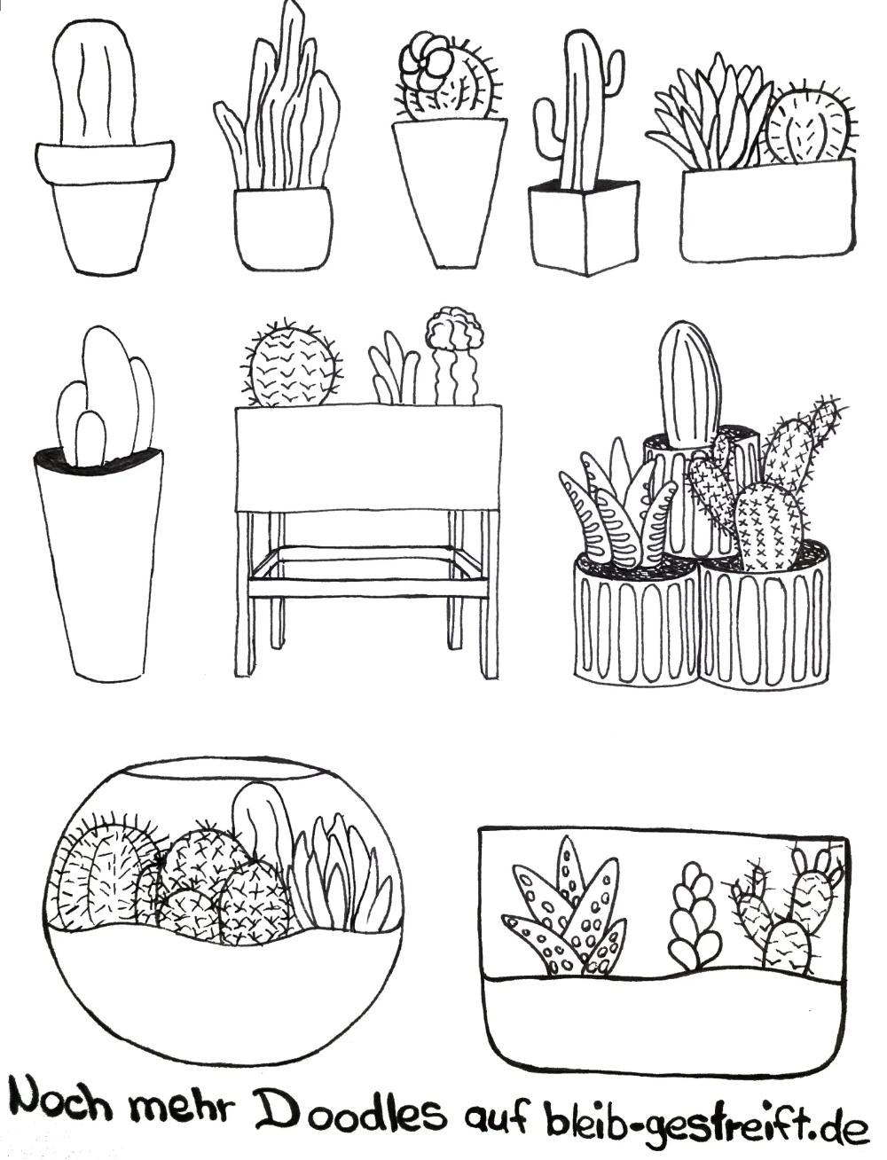 Doodles Zeichnen Viele Vorlagen Fur Deine