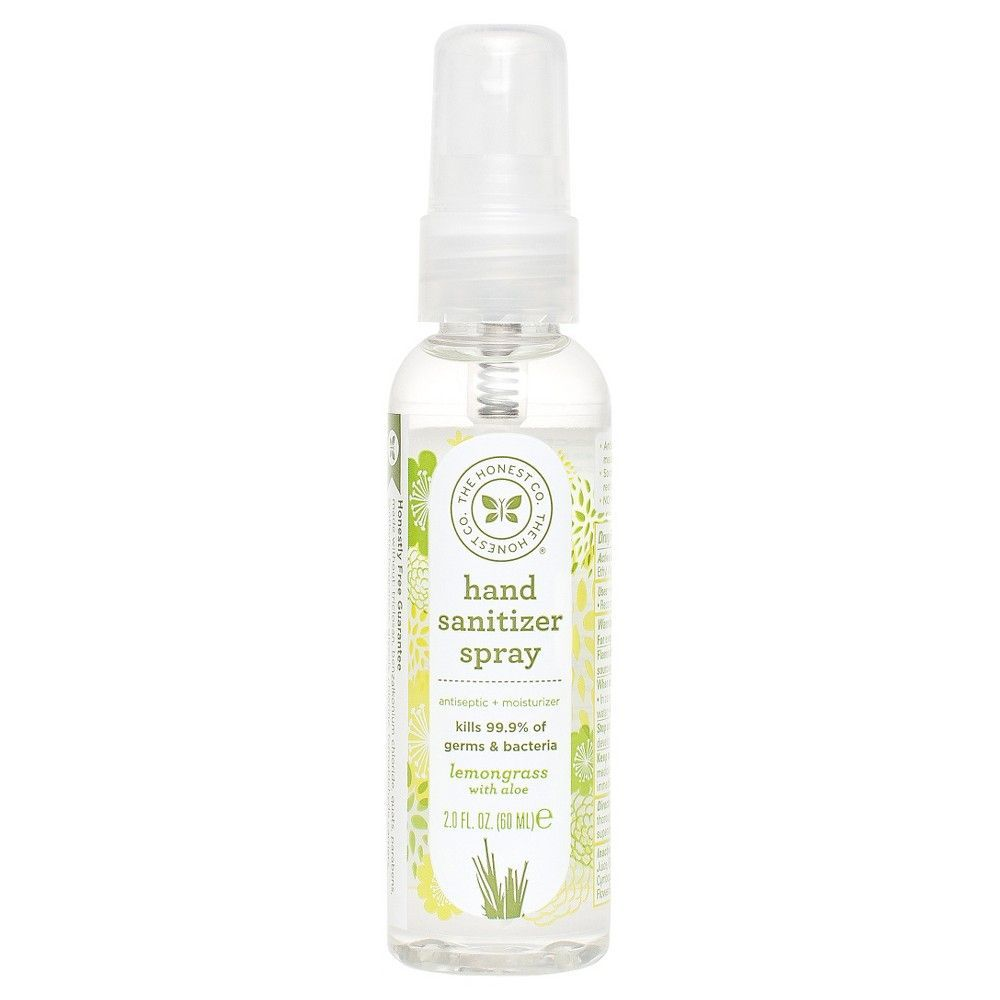 Honest Company Hand Sanitizer Spray Coastal Surf 2oz Hand