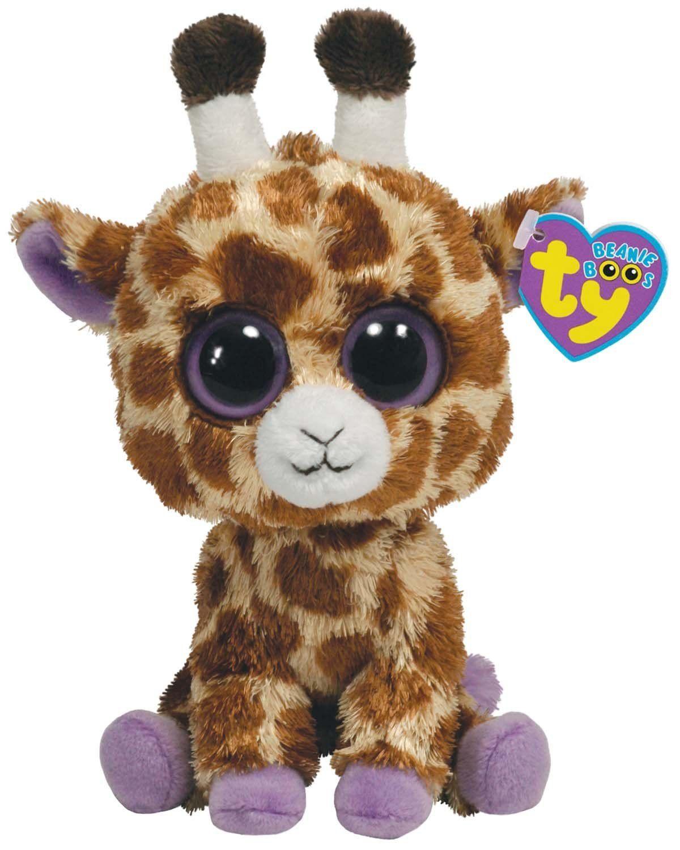 Amazon.com  Ty Beanie Boos - Safari the Giraffe 6  Toys   Games  81c2d7a6b794