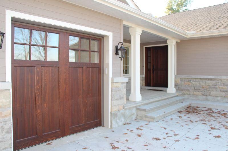 Oxford Carriage Door Ltd 8 0 X 8 0 Linwood Design Cedar