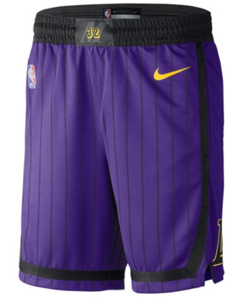 051042666cd7 Nike Men s Los Angeles Lakers City Swingman Shorts - Purple XXL ...