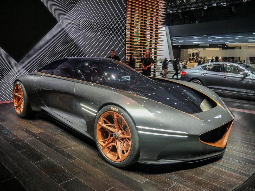 Jawdropping Genesis Essentia stole the show in NY—and it