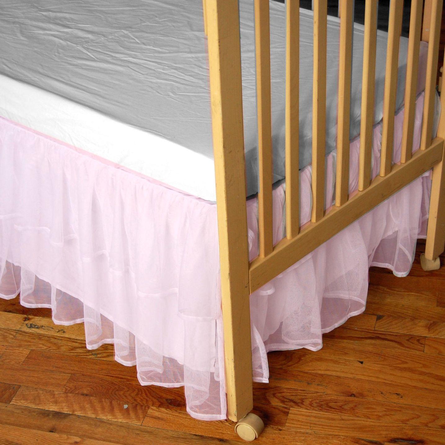 tulle crib skirt rylen avery pinterest tulle crib skirts crib