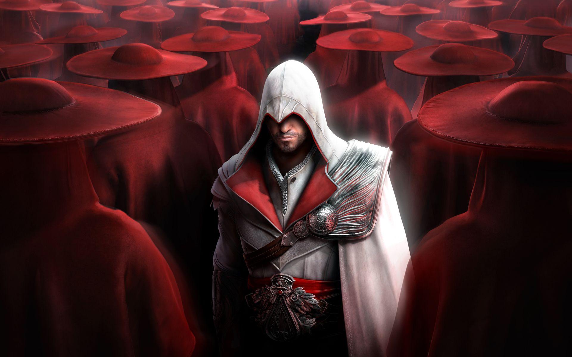 Ezio Wallpapers Wallpaper Arte De Jogos Assassin S Creed