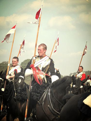 Job done, helmets off, cool down! Troopers of the Blues and Royals, Household Cavalry.