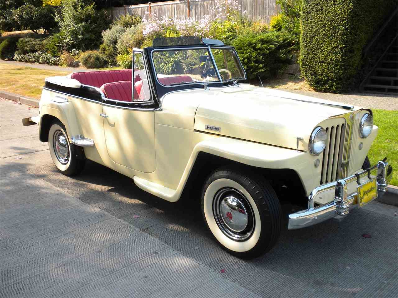 1949 Willys Overland Jeepster For Sale Listing Id Cc 1013265