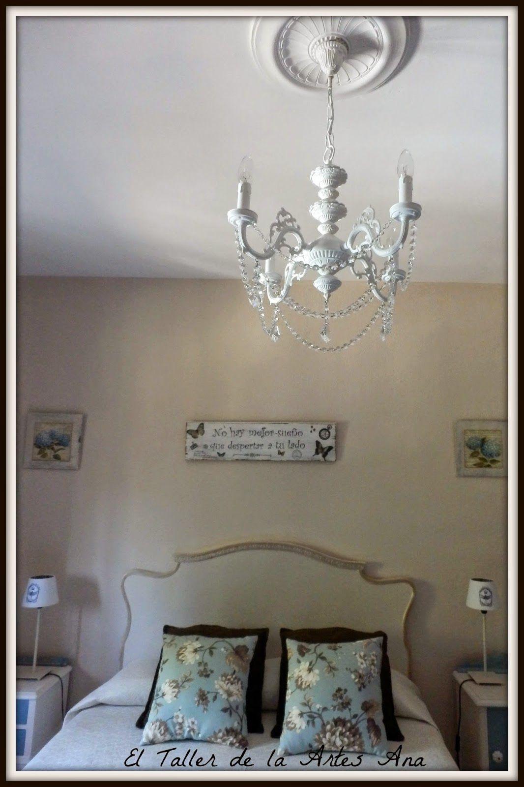 Decorando y transformando una preciosa lmpara de araa bricolaje diy lmpara chandelier hacer bricolaje es facilisimo aloadofball Image collections