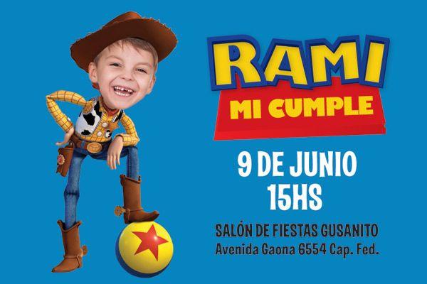 Invitaciones Para Personalizar De Toy Story Gratis Imagui