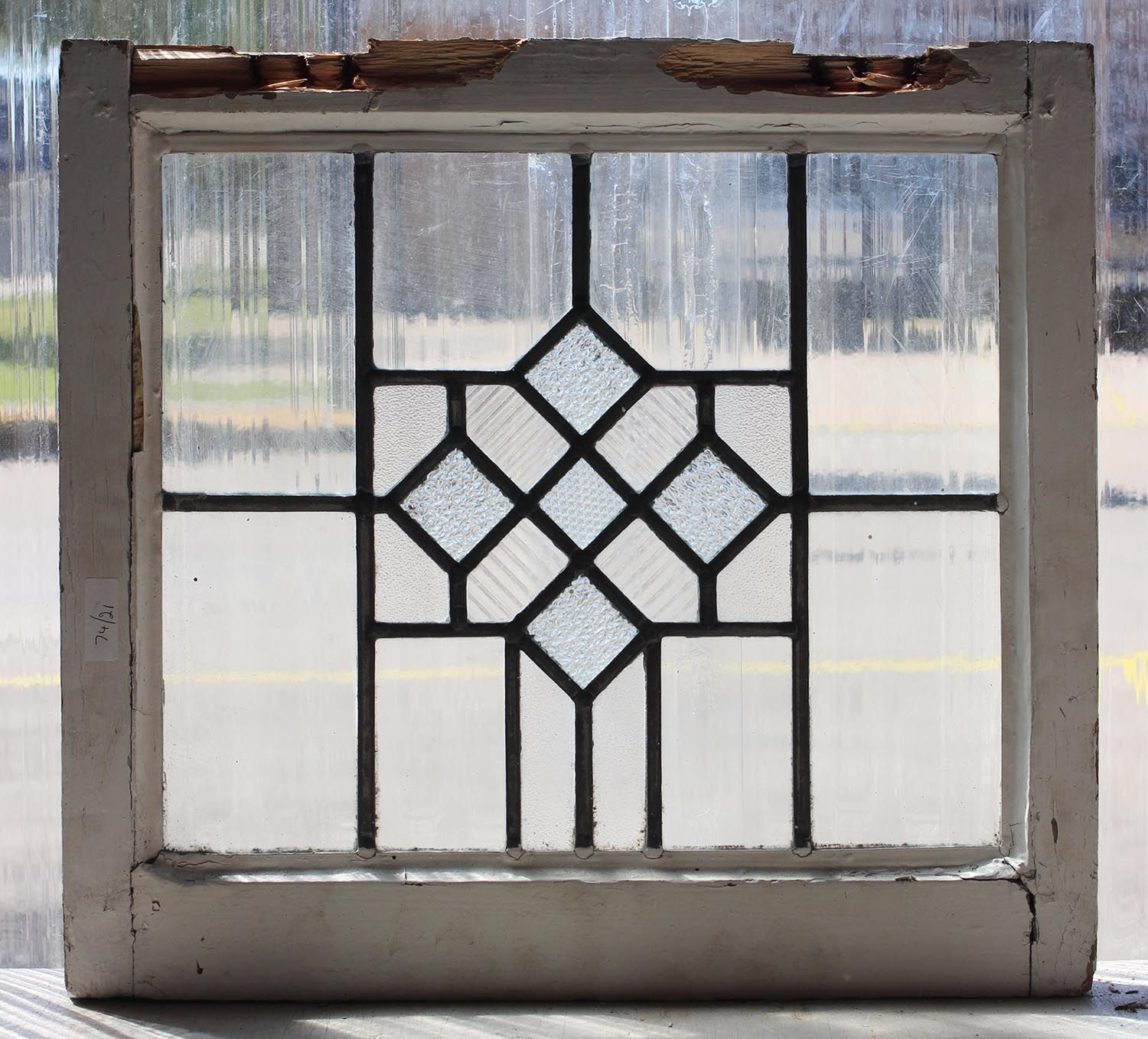 Vintage Leaded Glass Windows Antique Leaded Glass Window