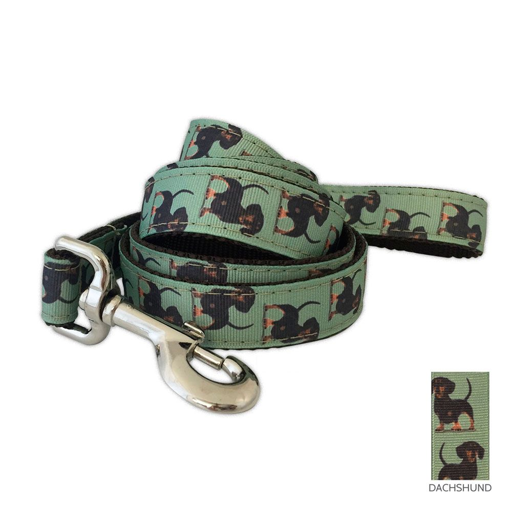 Dachshund Leash These Dachshund leashes are by the far the highest quality leashes on the market! They are constructed of solid webbing…