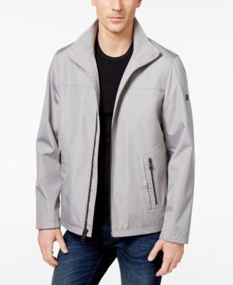 CALVIN KLEIN Calvin Klein Men'S Zip-Front Windbreaker. #calvinklein #cloth # coats