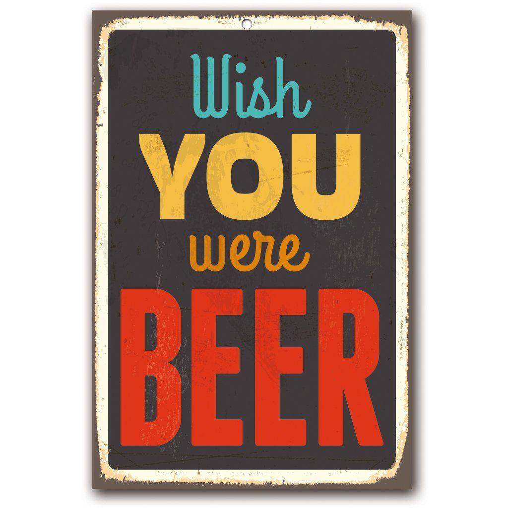 blechschild leben ohne bier! schild fun bar kneipe | bier
