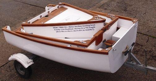 Nesting, Portable, Folding Boats & Dinghies UK - Nestaway ...