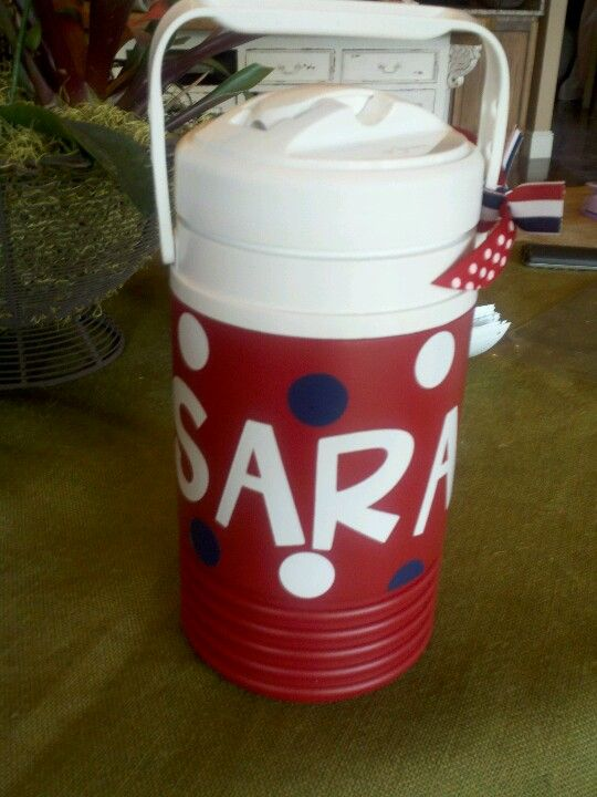 Personalized Water Jugs Cheer Gifts Cheerleading Spirit Gifts