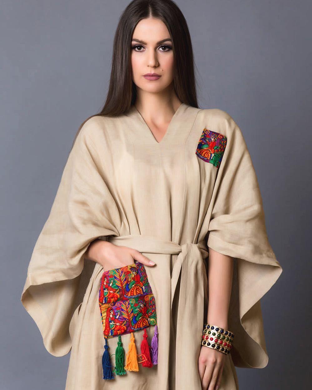 138 Likes 21 Comments Nada Bugshan By Nb On Instagram 2016 Ramadan Collection Model Susamasusam Abayas Fashion Iranian Women Fashion Fashion Dresses