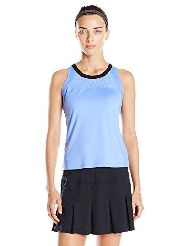 Bolle Womens Seraphina Scoop Neck Tank Periwinkle Small *** More info could be found at the image url.