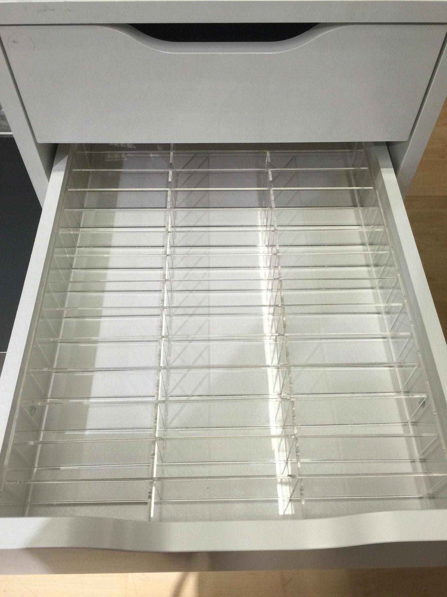 Alex 42 Compact | Organizers | Alex drawer, Ikea alex drawers