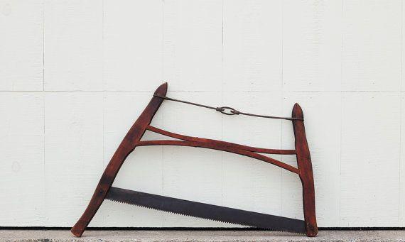 Vintage Crosscut Saw
