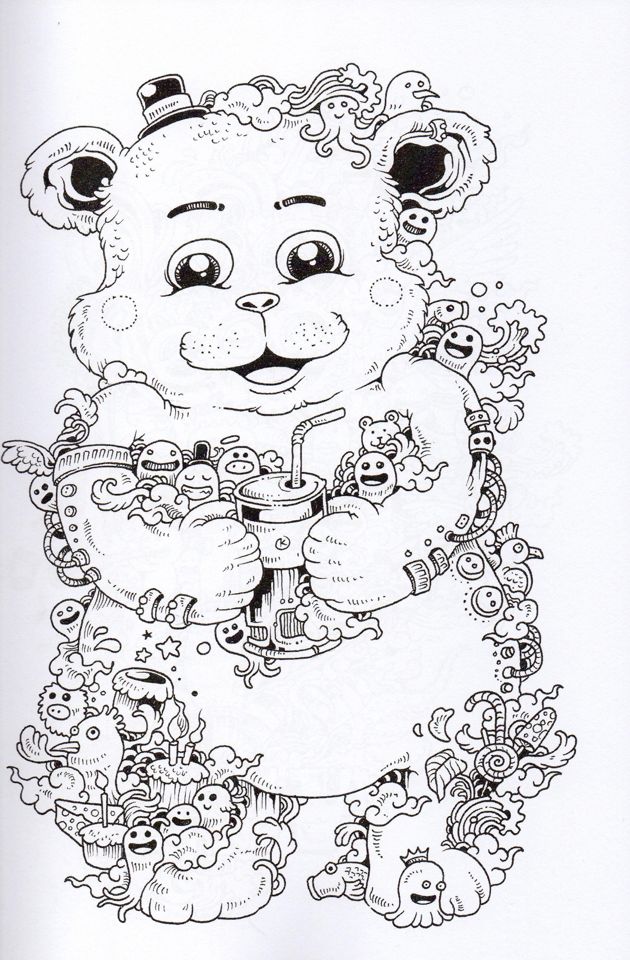 Doodle invasion | DOODLES | Pinterest | Ausmalbilder, Zen und Ausmalen