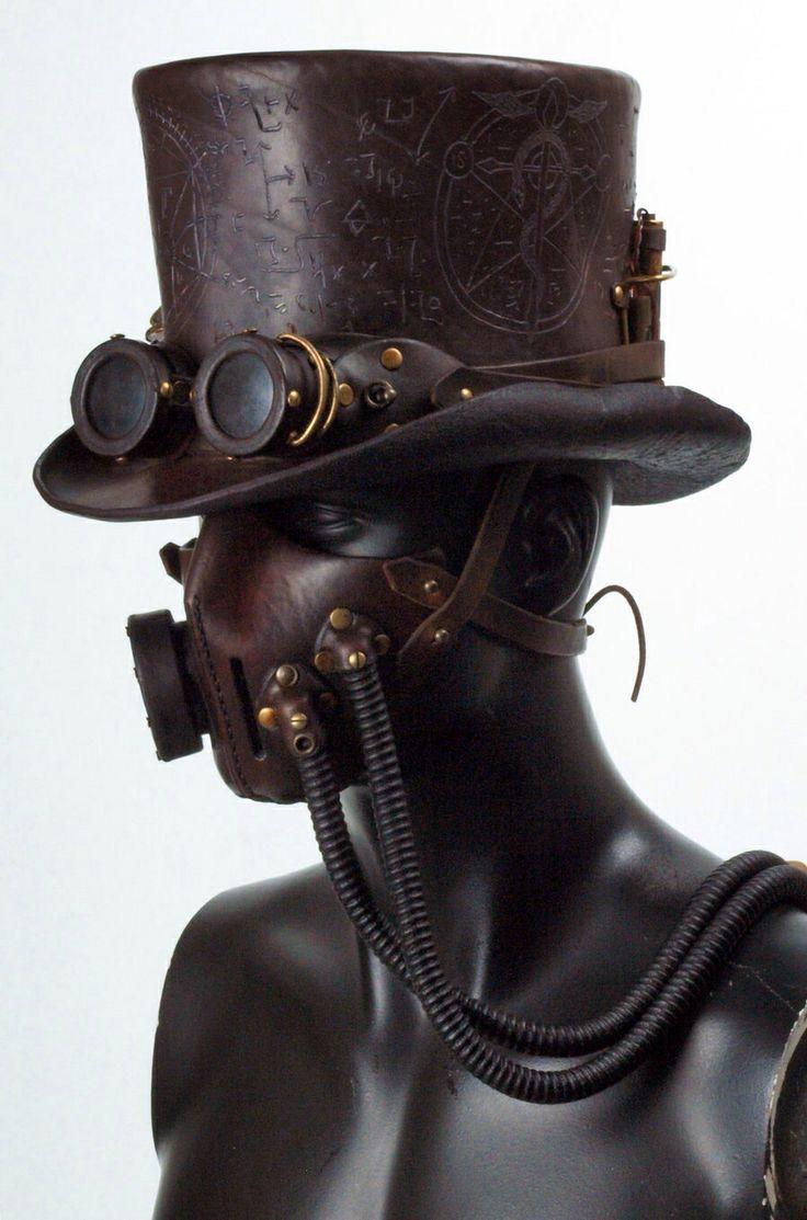 steampunk gas mask costume - Google Search | stuff16 | Pinterest ...