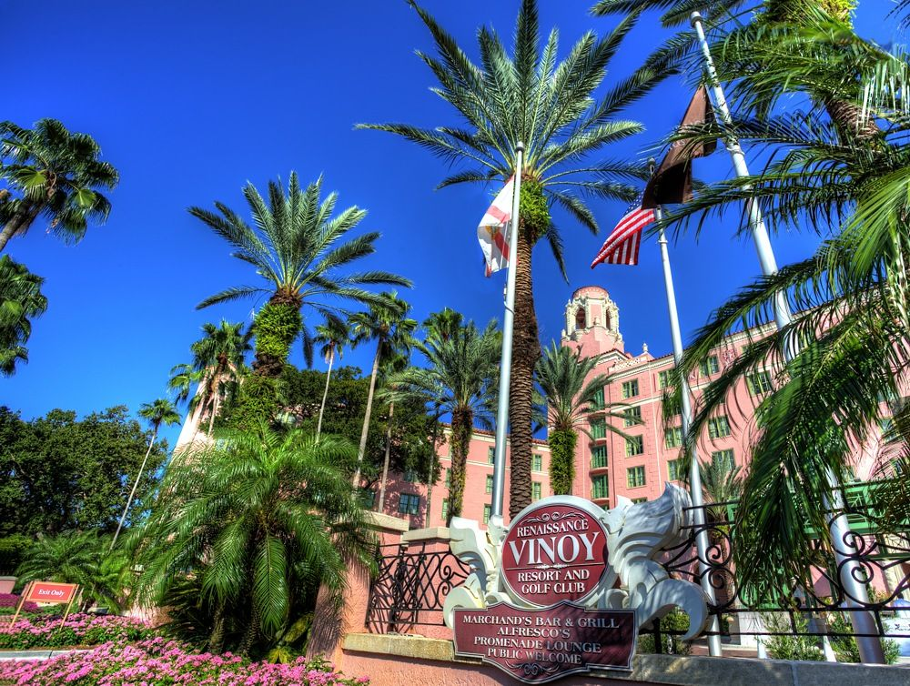 Visiting the Vinoy Park Hotel, St Pete (With images