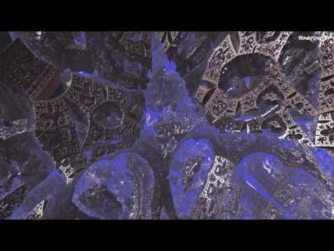 animated fractal--Height Rip  -2 scale Mandelbox zoom | One
