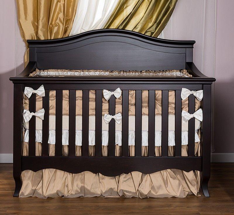 Silva Sophia Convertible Crib In Cherry By Behr S Furniture