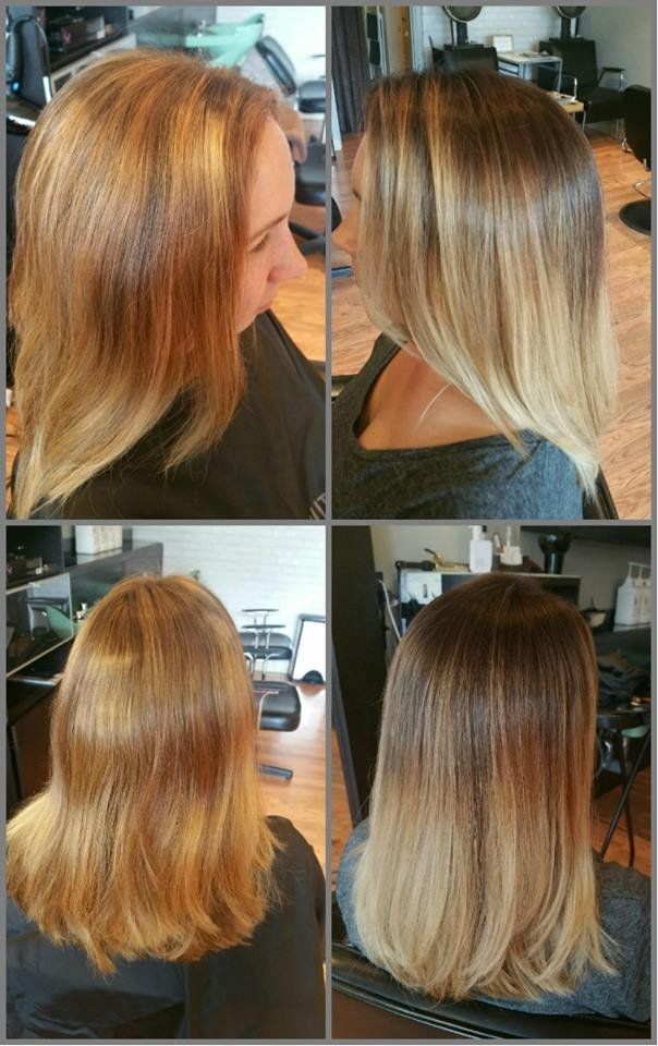 Wink Hair Studio Seattle Wa United States Before And After Bad