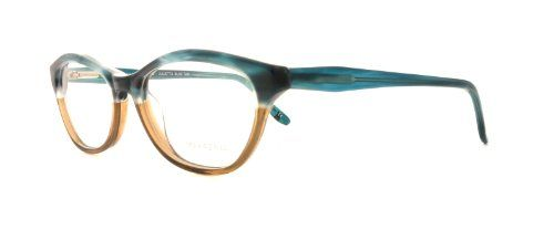 77d56440a7f7 BCBG Eyeglasses JULIETTA Blue Tan 52MM Now for 120.73. NEW. Plastic. Demo  Lens. 52-16-135