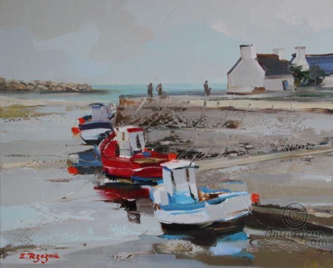 IMG_3962.JPG - Peinture,  60x73 cm ©2012 par Ewa Rzeznik -