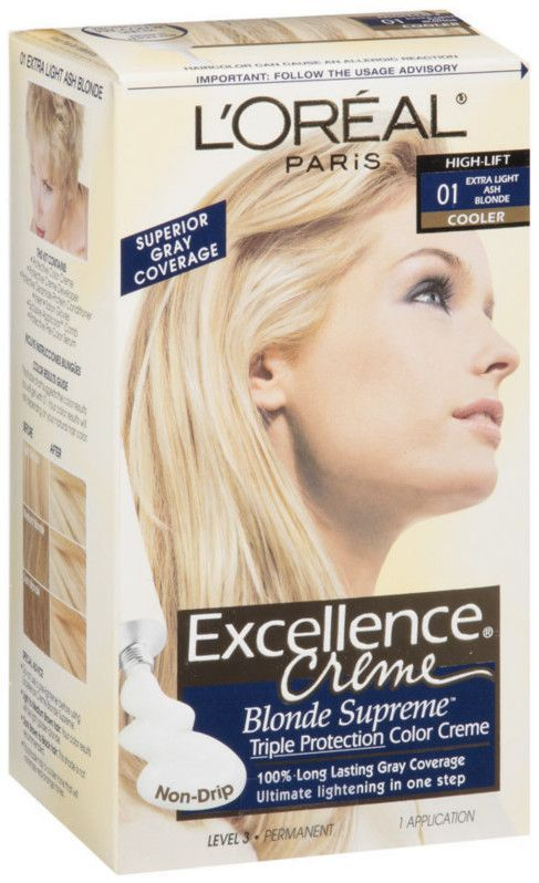 Excellence Creme Loreal Ash Blonde Hair Color