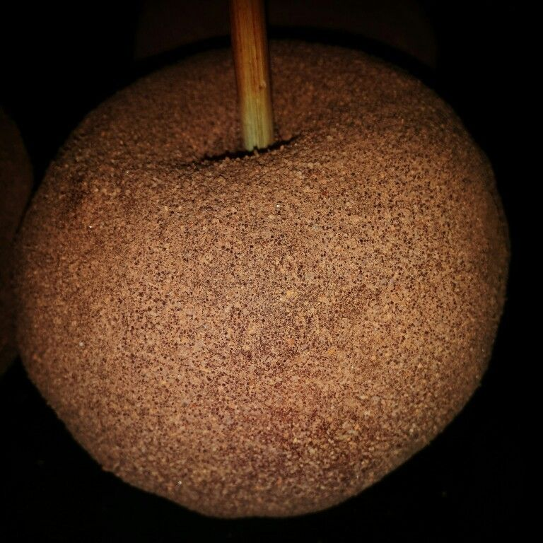 Chamoy apple with trechas chile powder chamoy apples