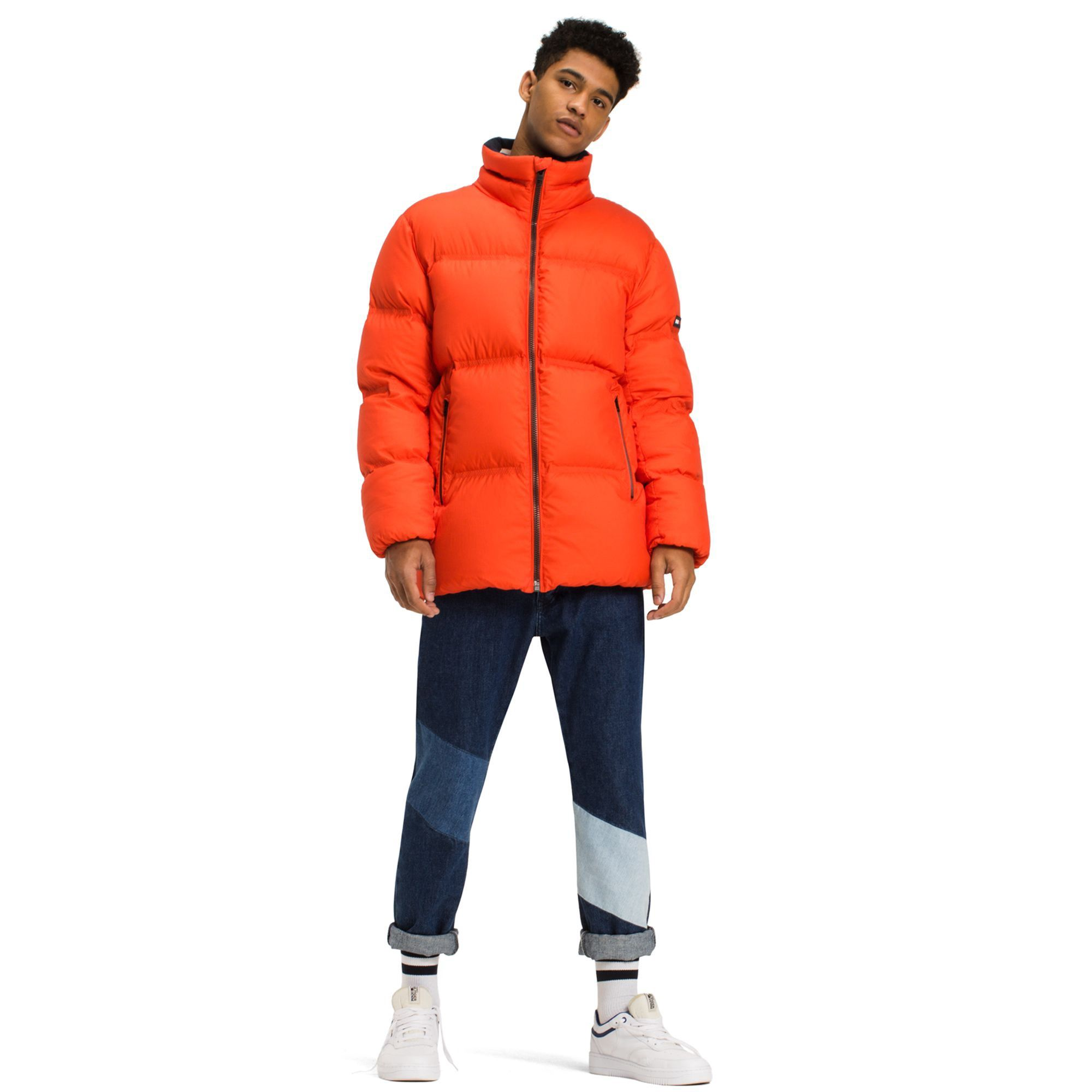 Tommy Hilfiger Down Puffer Jacket Spicy Orange Tommyhilfiger Cloth Tommy Hilfiger Tommy Hilfiger Man Hilfiger [ 2000 x 2000 Pixel ]