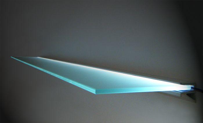 imagini top line floating glass shelves floating shelves metal floating shelves. Black Bedroom Furniture Sets. Home Design Ideas