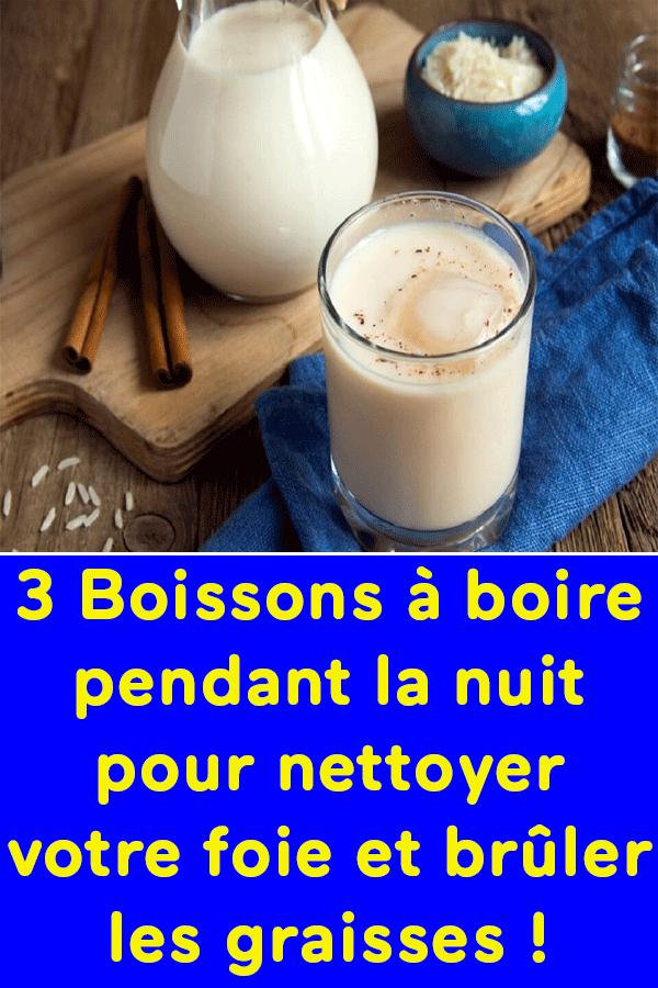 3 Boissons à Boire Pendant La Nuit Pour Nettoyer Votre Foie Et Brûler Les Graisses Glass Of Milk Health Detox
