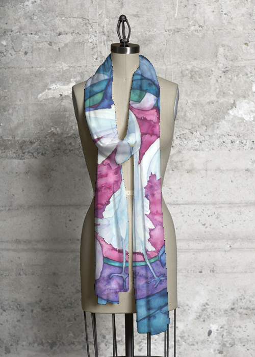 Modal Scarf - Scarf watercolours by VIDA VIDA oe19jg