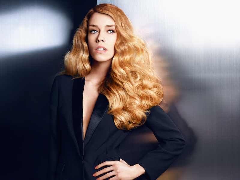 gorgeous rose gold hair colour
