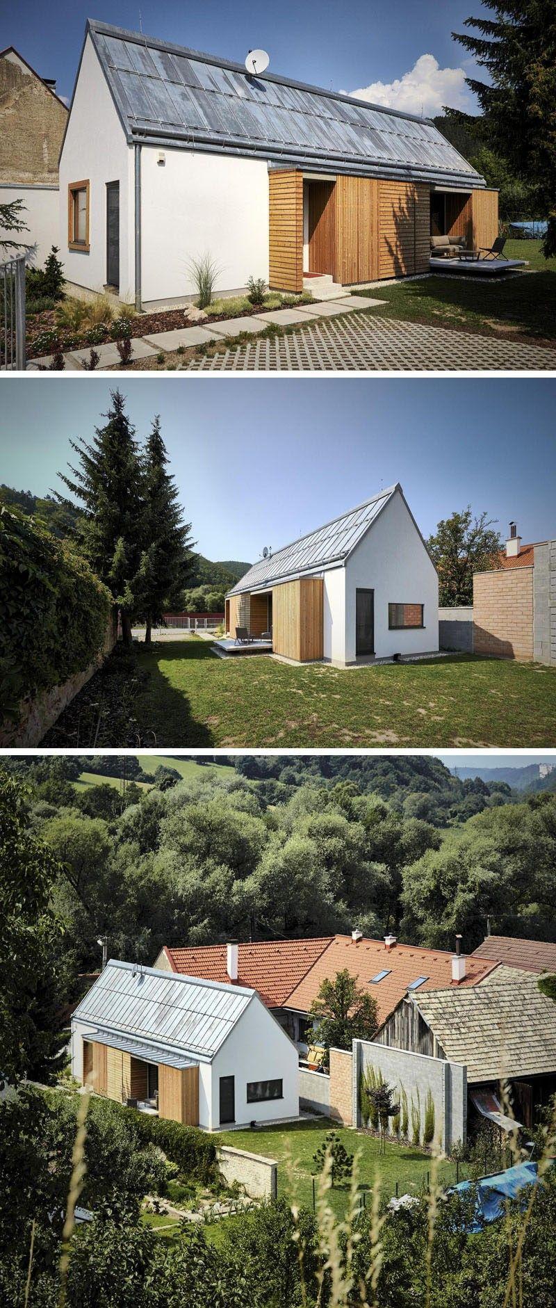 11 Kleine Moderne Hausprojekte / / Gebaut, Um Ein Altes Haus Zu Ersetzen,  Die Abgerissen Werden Musste, Dieses Neue Haus Kombiniert Aspekte Der ...