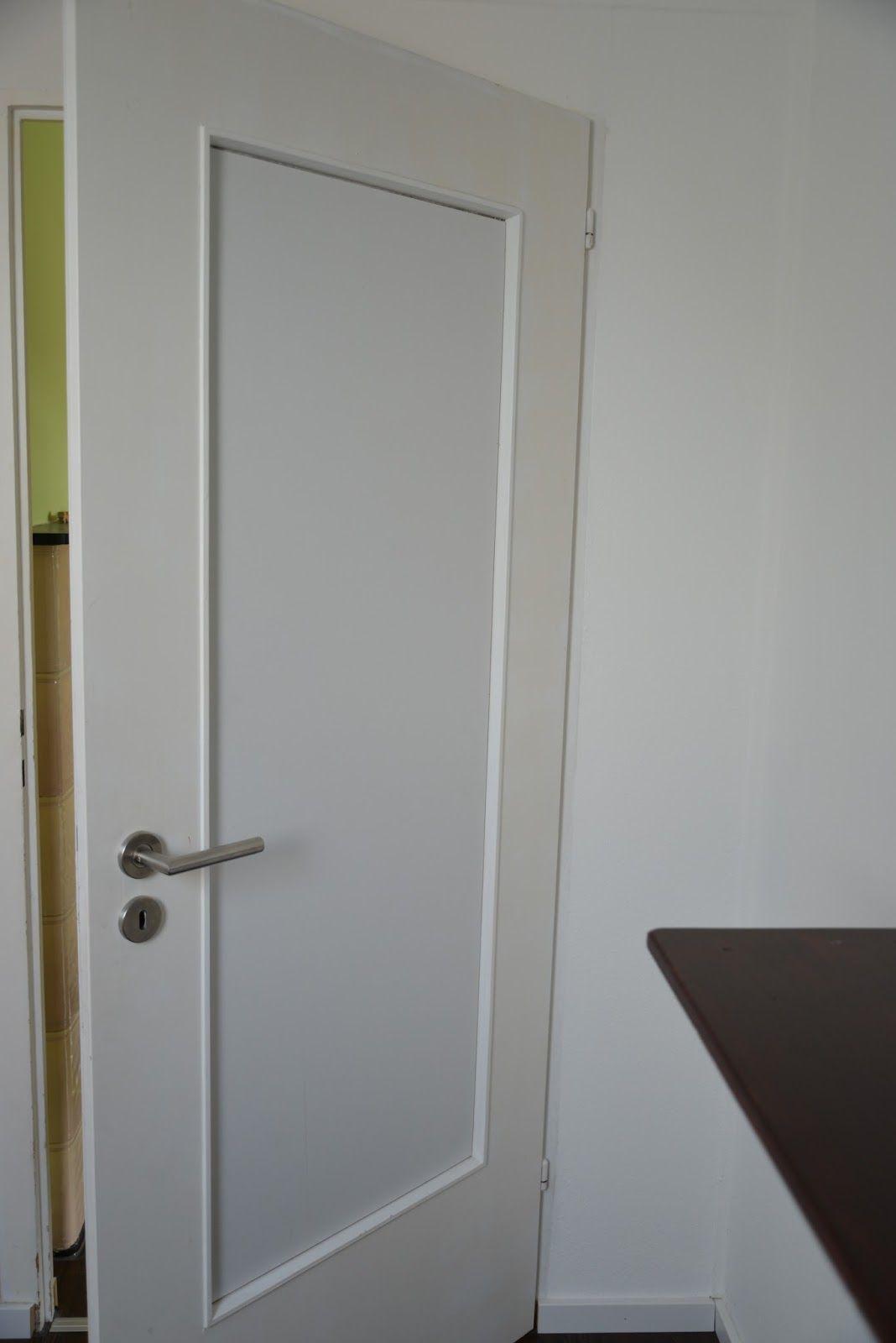 Tür mit Tafelfolie umgestalten ▽▽ | Tür mit glaseinsatz ...