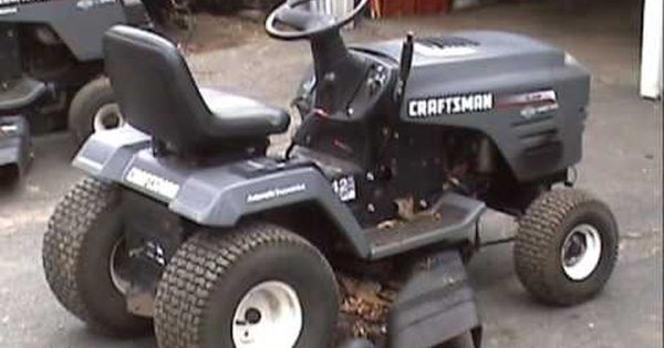 Replacing A 6 Speed Transaxle With A Hydrostatic In A Craftsman Tractor Youtube Interest Pinterest Craft Lawn Mower Maintenance Lawn Mower Repair Mower