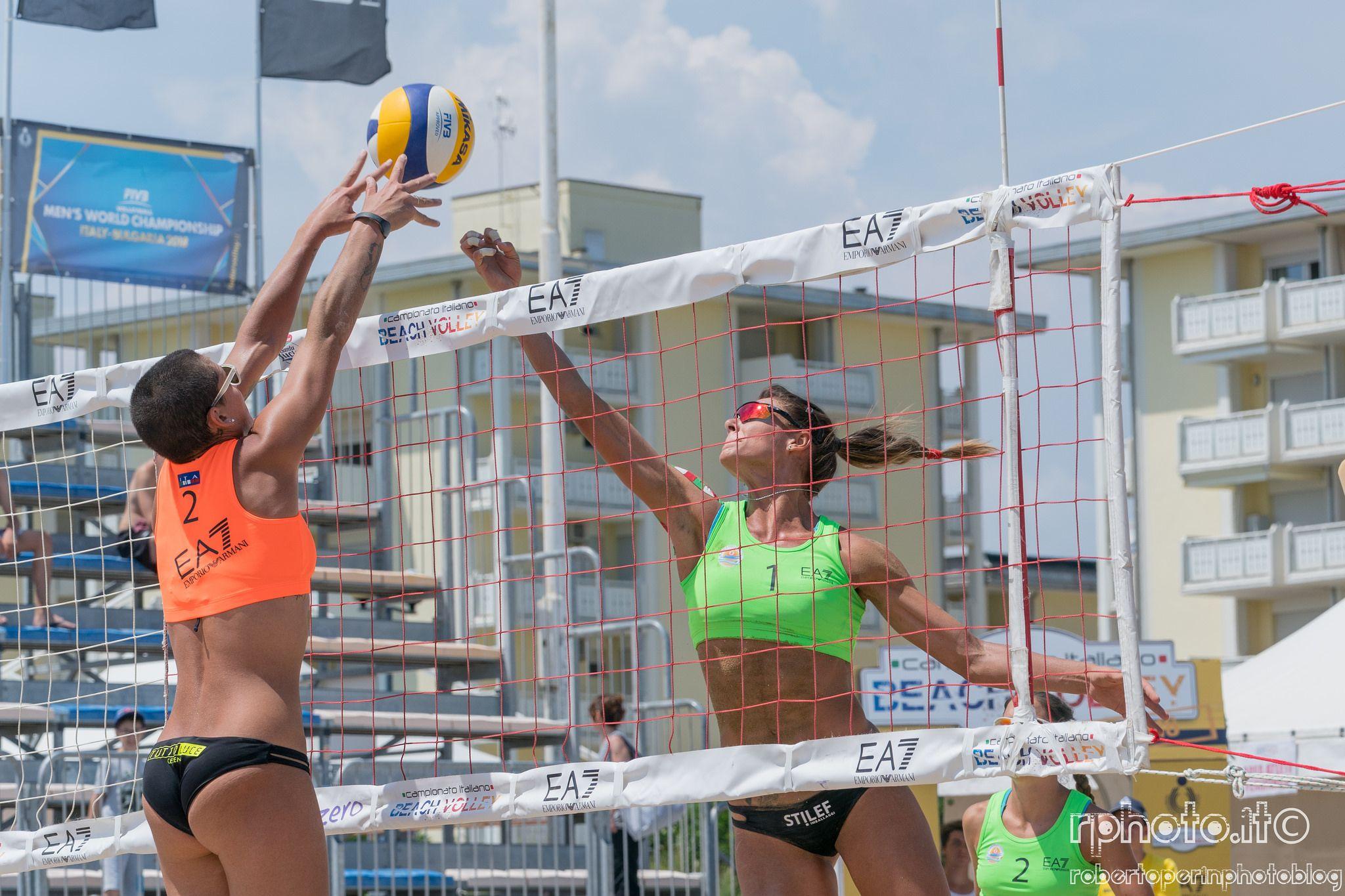 2 Tappa Campionato Italiano Beach Volley Beach Volleyball Volley Volleyball Players