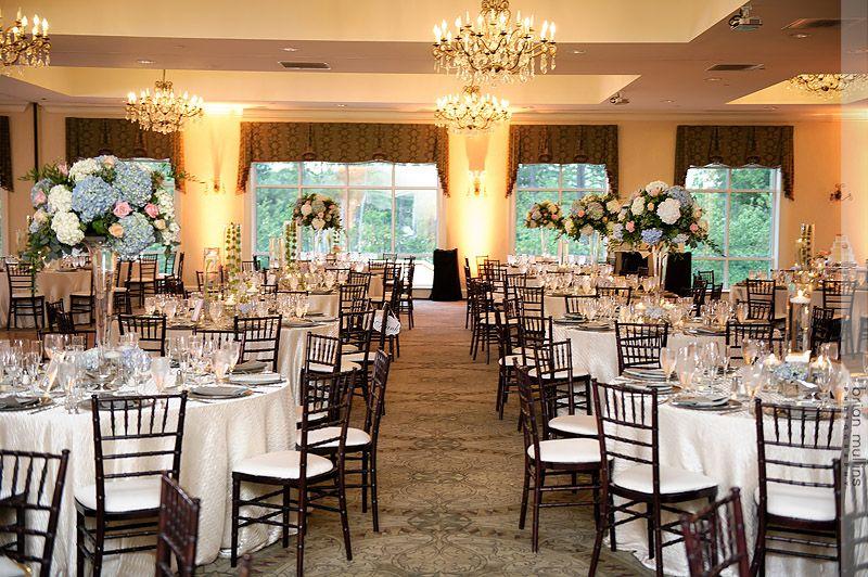 Brier Creek Country Club Grand Ballroom Wedding Reception Raleigh