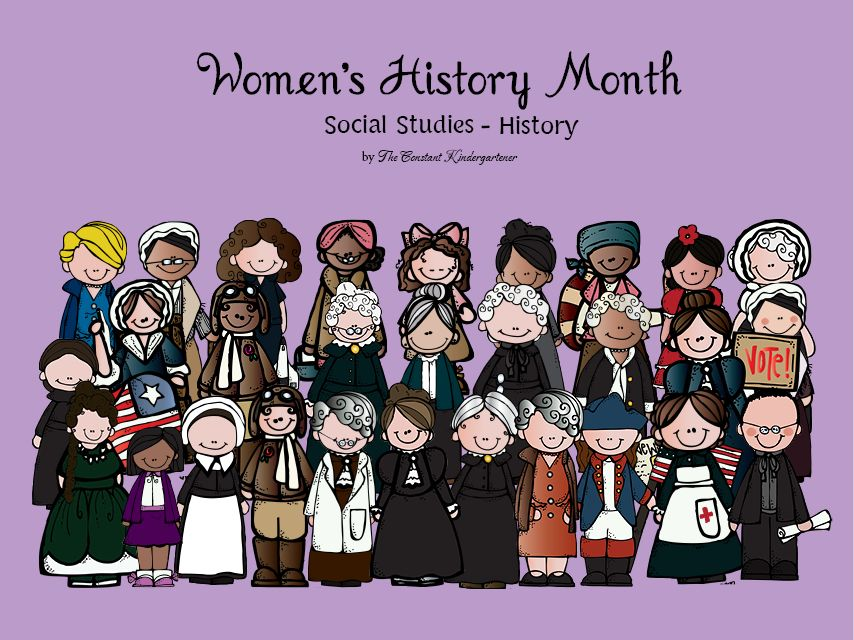 Womens History Month Social Studies History Kindergarten And 1st
